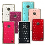 Nokia Lumia 520/525 Steel Diamond Case