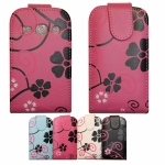 Nokia Lumia 520 Flip Leather Flower Printed Case