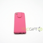 HTC Desire Z Flip Leather case Pink