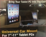 Universal Tablet Car PC Mount Holder