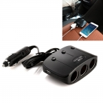 Car Triple USB Car Socket