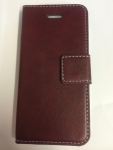 IPhone 5/5S Wallet Leather Plain