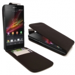 Xperia E1 Flip leather Case