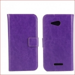 Xperia E4G Wallet Leather Case