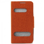 Samsung Galaxy S4 Wallet Leather Double Window Board Style