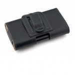 Belt Pouch Leather Case (Black)