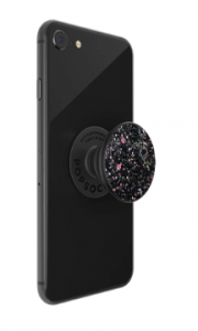 Black Sparkle Pop Socket