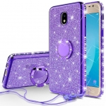 Galaxy A70 Crystal Ring Case