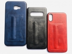 Galaxy A50 Back Leather Case