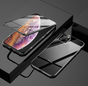 IPhone XR Double Side Glass Magnetic Case