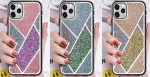 IPhone 11 Pro Max (6.5 inch) Glittery Diamond Bumper Case