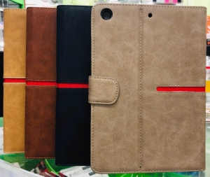iPad Mini/2/3 Book Case Red Strip Case