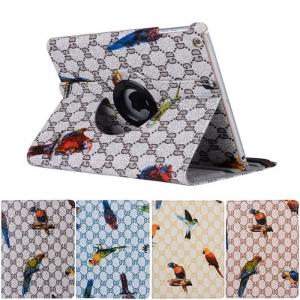 IPad Mini/2/3 Parrot Printed 360 Rotation Case