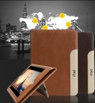 IPad Mini4 Strip Design Leather Case