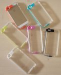 IPhone 5S/SE/ Clear Light Reflection Case