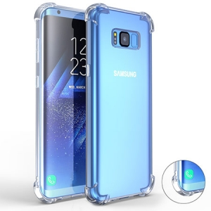 Galaxy J6 2018 Clear Anti Drop Case