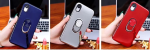 IPhone 11 (6.1 Inch) Shiny Shockproof Ring Case