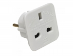 UK To Eroupe Charging Adaptor (one Pair Packing)