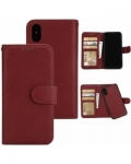 IPhone X Wallet Leather 2in1 Case
