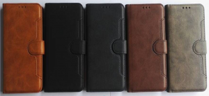 Galaxy S10E (Lite) Wallet Double Stitches Leather Case