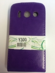 Huawei Ascend Y 300 Flip Leather Case