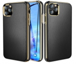 IPhone 11 Pro (5.8 Inch) TPU Metal Crowm Case